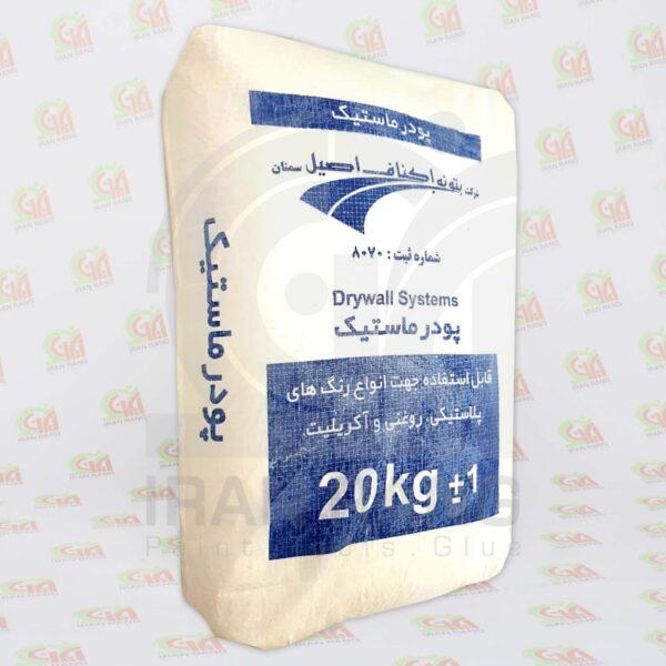 پودر ماستیک اکناف 20 کیلویی - فروشگاه رنگ و ابزار ایران رنگ