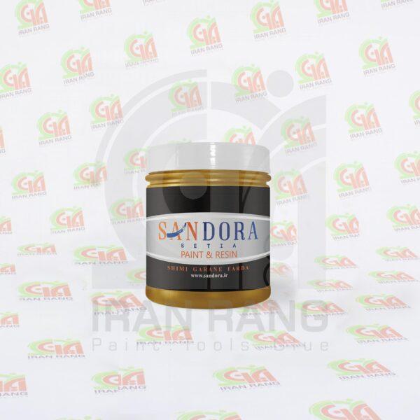 رنگ تزئینی اکلیلی اکریلیک طلایی ساندورا - کد ۱۲۲